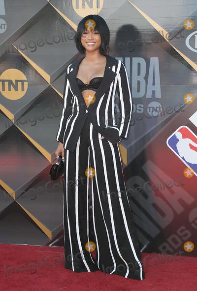 Karrueche Tran Photo - 25 June 2018 - Santa Monica California - Karrueche Tran 2018 NBA Awards held at Barker Hangar Photo Credit PMAAdMedia