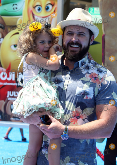 AJ Buckley Photo - 23 July 2017 - Westwood California - A J Buckley Willow Phoenix Buckley The Emoji Movie World Premiere held at Regency Village Theatre Photo Credit F SadouAdMedia
