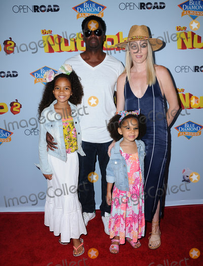 Harold Perrineau Photo - 05 August  2017 - Los Angeles California - Harold Perrineau  World premiere of Nut Job 2 Nutty by Nature  held at Regal Cinema at LA Live in Los Angeles Photo Credit Birdie ThompsonAdMedia