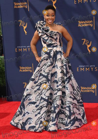 Amber Ruffin Photo - 09 September 2018 - Los Angeles California - Amber Ruffin 2018 Creative Arts Emmy Awards - Arrivals held at Microsoft Theater Photo Credit Birdie ThompsonAdMedia