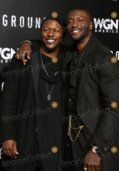 Aldis Hodge Photo - 28 February 2017 - Westwood California - Edwin Hodge Aldis Hodge WGN Americas Underground Season 2 Premiereheld at Westwood Village Photo Credit AdMedia