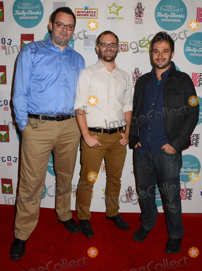 Aaron Wolf Photo - 17 August 2013 - Hollywood Ca - Mark Gessner Tim Nattall Aaron Wolf HollyShorts Film Festival arrivals at the TCL Chinese Theater in Hollywood Ca Photo Credit BirdieThompsonAdMedia