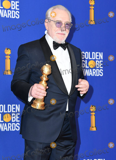 Brian Cox Photo - 05 January 2020 - Beverly Hills California - Brian Cox 77th Annual Golden Globes - Press Room held at Beverly Hilton Hotel Photo Credit Birdie ThompsonAdMedia