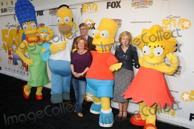 Al Jean Photo - 8 February 2012 - Hollywood California - Al Jean Nancy Cartwright Yeardley Smith The Simpsons 500th Episode Ultimate Fan Challenge held at Hollywood  Highland Photo Credit Byron PurvisAdMedia