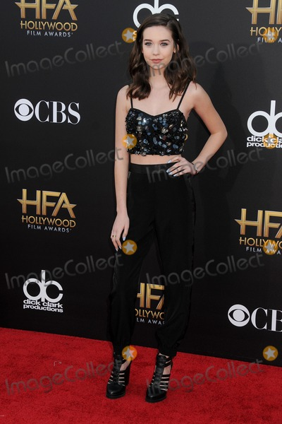 Amanda Steele Photo - 14 November 2014 - Hollywood California - Amanda Steele 18th Annual Hollywood Film Awards - Arrivals held at the Hollywood Palladium Photo Credit Byron PurvisAdMedia