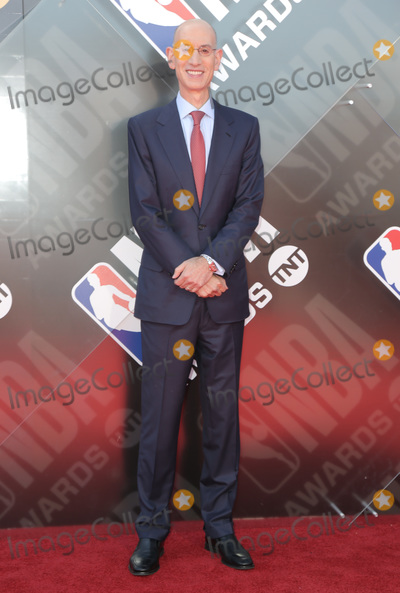 Adam Silver Photo - 25 June 2018 - Santa Monica California - Adam Silver 2018 NBA Awards held at Barker Hangar Photo Credit PMAAdMedia