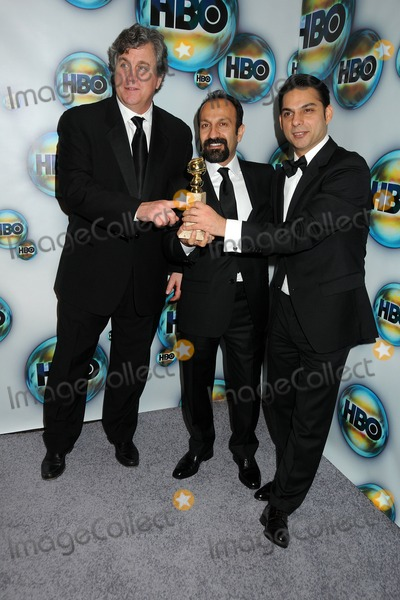 Asghar Farhadi Photo - 15 January 2012 - Beverly Hills California - Tom Bernard Asghar Farhadi Peyman Moaadi HBO 2012 Golden Globe Awards Post Party held at Circa 55 Restaurant Photo Credit Byron PurvisAdMedia