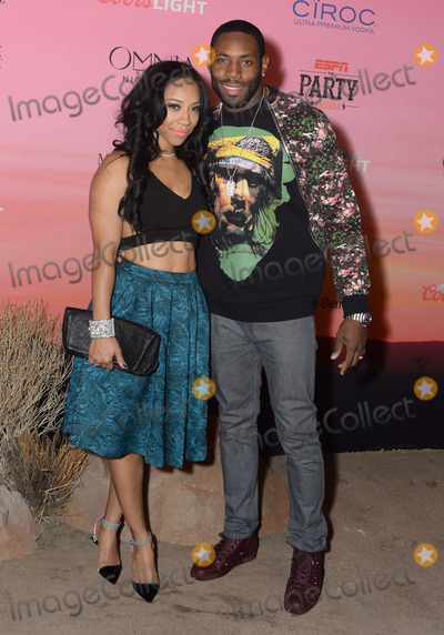 Antonio Cromartie Photo - 30 January 2015 - Scottsdale Arizona - Antonio Cromartie Terricka Cason ESPN The Party held at WestWorld of Scottsdale Photo Credit Keith SparbanieAdMedia