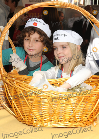 August Maturo Photo - 25 November 2015 - Los Angeles California - August Maturo McKenna Grace 2015 Los Angeles Mission Thanksgiving Meal for the Homeless held at the LA Mission Photo Credit Byron PurvisAdMedia