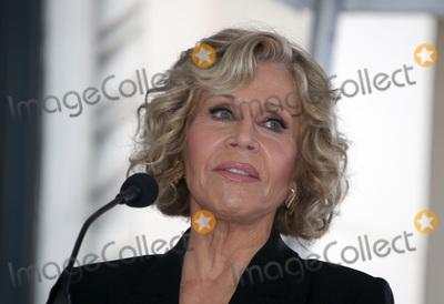 Jane Fonda Photo - 6 November 2018-  Hollywood California - Jane Fonda Hollywood Walk of Fame Ceremony Honoring Michael Douglas held at Hollywood  Vine Photo Credit Faye SadouAdMedia