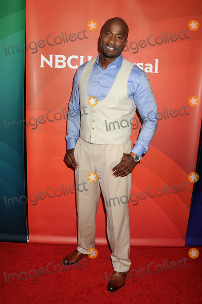 Akbar Gbaja-Biamila Photo - 13 August 2015 - Beverly Hills California - Akbar Gbaja-Biamila NBC Universal 2015 Summer Press Tour - Day 2 held at the Beverly Hilton Hotel Photo Credit Byron PurvisAdMedia