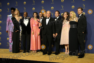 Aidy Bryant Photo - 17 September 2018 - Los Angles California - Lorne Michaels Leslie Jones Aidy Bryant Kate McKinnon Erin Doyle Erik Kenward Lindsay Shookus Steve Higgins 70th Primetime Emmy Awards held at Microsoft Theater LA LIVE Photo Credit Faye SadouAdMedia