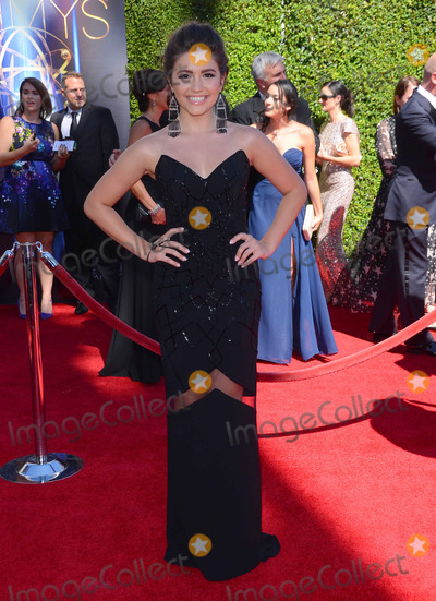 Ana Golja Photo - 16 August 2014 - Los Angeles California - Ana Golja Arrivals for the 2014 Creative Arts Emmy Awards held at Nokia Theater LA LIVE in Los Angeles Ca Photo Credit Birdie ThompsonAdMedia