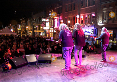 Kentucky Headhunters Photo - November 23 2011 - Nashville TN - The Kentucky Headhunters performed at the Tootsies 51st Birthday Bash on lower Broadway in downtown Nashville Photo credit Doug Harris  AdMedia