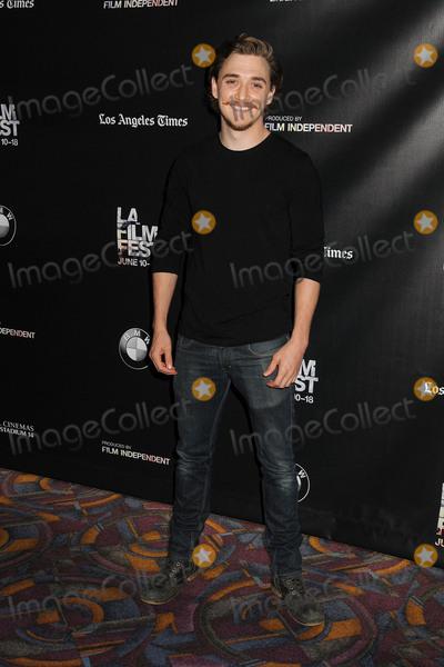 Kyle Gallner Photo - 13 June 2015 - Los Angeles California - Kyle Gallner LA Film Festival 2015 Premiere of Band Of Robbers held at Regal Cinemas LA Live Photo Credit Byron PurvisAdMedia