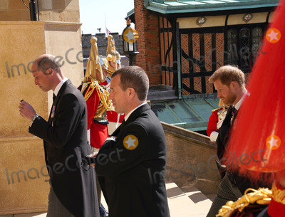 Prince William Photo - Photo Must Be Credited Alpha Press 073074 17042021Prince William Duke of Cambridge Peter Phillips Prince Harry Duke of Sussex during the funeral of Prince Philip Duke of Edinburgh at St Georges Chapel in Windsor Castle in Windsor Berkshire No UK Rights Until 28 Days from Picture Shot Date AdMedia