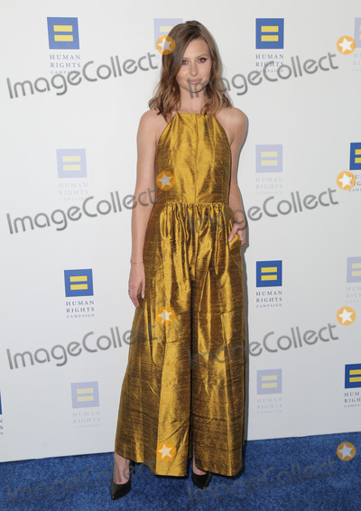 Aly Michalka Photo - 30 March 2019 - Los Angeles California -Aly Michalka The Human Rights Campaign 2019 Los Angeles Gala Dinner held at JW Marriott Los Angeles at LA LIVE Photo Credit PMAAdMedia