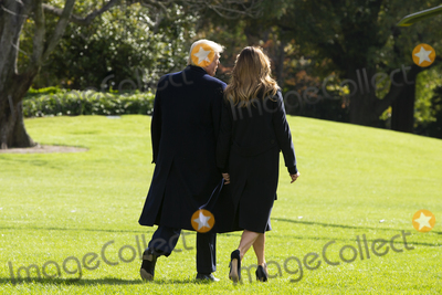 Alabama Photo - US President Donald J Trump (L) and First Lady Melania Trump (R) walk aross the South Lawn of the White House to depart by Marine One in Washington DC USA 09 November 2019 The President and First Lady will attend a National Collegiate Athletic Association (NCAA) football game between Alabama and Louisiana State University in Tuscaloosa Alabama then they will stay in New York City through Veterans DayCredit Michael Reynolds  Pool via CNPAdMedia