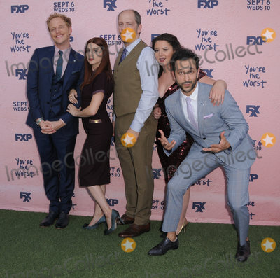 Aya Cash Photo - 29 August  2017 - Los Angeles California - Chris Geere Aya Cash Stephen Falk Kether Donohue Desmin Borges FXXs Youre the Worst Season Four Premiere held at Museum of Ice Cream in Los Angeles Photo Credit Birdie ThompsonAdMedia