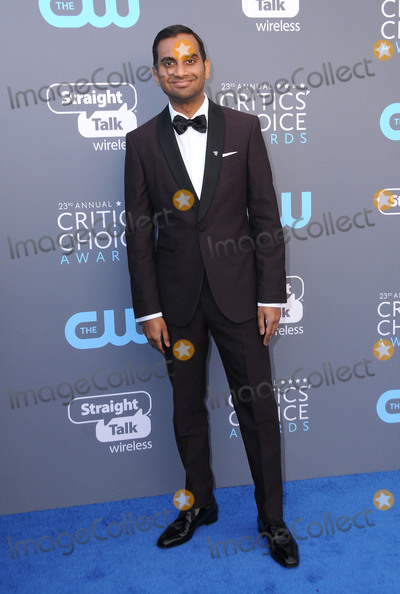 Aziz Ansari Photo - 11 January 2018 - Santa Monica California - Aziz Ansari 23rd Annual Critics Choice Awards held at Barker Hangar Photo Credit Birdie ThompsonAdMedia