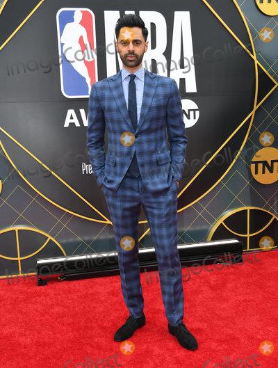 Hasan Minhaj Photo - 24 June 2019 - Santa Monica California - Hasan Minhaj 2019 NBA Awards held at the Barker Hangar Photo Credit Birdie ThompsonAdMedia