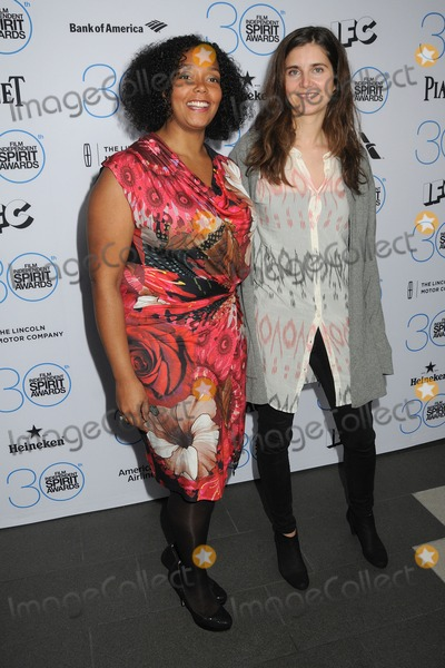 Anja Marquardt Photo - 10 January 2015 - West Hollywood California - Kiara C Jones Anja Marquardt 2015 Film Independent Spirit Awards Nominees Brunch held at BOA Steakhouse Photo Credit Byron PurvisAdMedia