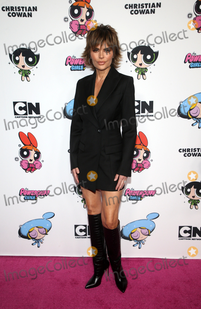 Lisa Rinna Photo - 8 March 2020 - Hollywood California - Lisa Rinna 2020 Christian Cowan x Powerpuff Girls Runway Show held at NeueHouse Photo Credit FSAdMedia