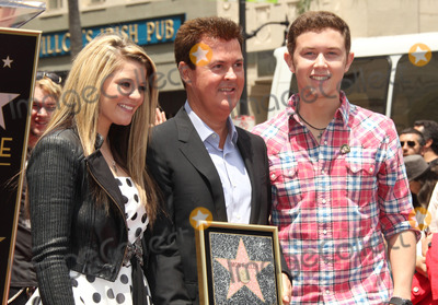 Scotty McCreery Photo - 23 May 2011 - Hollywood California - Lauren Alaina Simon Fuller Scotty McCreery Simon Fuller Hollywood Walk Of Fame Induction Ceremony held on Hollywood Blvd Photo Credit Russ ElliotAdMedia