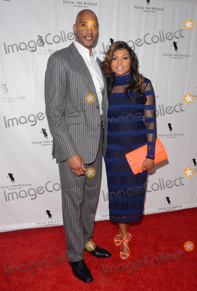 Henri Simmons Photo - 23 April 2014 - Hollywood California - Henry Simmons Taraji P Henson Arrivals for the Los Angeles premiere of From the Rough held at the Arclight Cinemas in Hollywood Ca Photo Credit Birdie ThompsonAdMedia