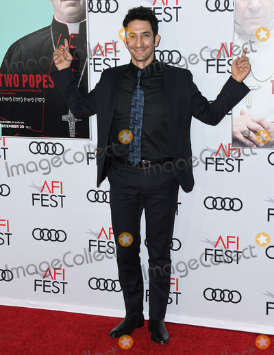 Juanes Photo - 18 November 2019 - Hollywood California - Juan Minujn 2019 AFI Fests  The Two Popes Los Angeles Premiere held at TCL Chinese Theatre Photo Credit Birdie ThompsonAdMedia