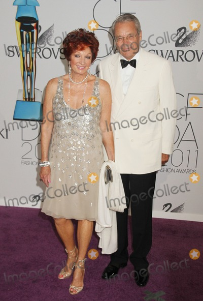 Alex Cole Photo - 06 June 2011 - New York NY - Helmut Swarovski (R) and Danna Swarovski 2011 CFDA Fashion Awards held at Alice Tully Hall Lincoln Center Photo Credit Alex ColeAdMedia