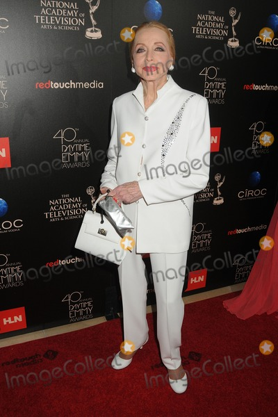 Ann Jeffreys Photo - 16 June 2013 - Beverly Hills California - Anne Jeffreys 40th Annual Daytime Emmy Awards - Arrivals held at the Beverly Hilton Hotel Photo Credit Byron PurvisAdMedia
