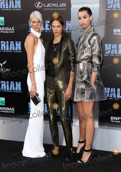Aymeline Valade Photo - 17 July 2017 - Los Angeles California - Sasha Luss Aymeline Valade and Pauline Hoarau Valerian and the City of a Thousand Planets World Premiere held at TCL Chinese Theatre in Hollywood Photo Credit AdMedia