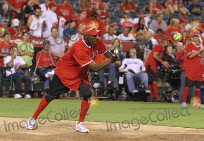 Al Joyner Photo - 3 July 2011 - Anaheim California - Al Joyner Steve Garveys Celebrity Softball Game for ALS Research Held At Angels Stadium Photo Credit Kevan BrooksAdMedia