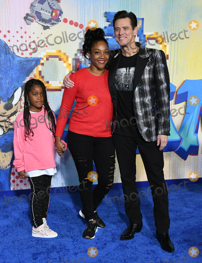 Tiffany Haddish Photo - 12 February 2020 - Los Angeles California - Tiffany Haddish Jim Carrey Sonic the Hedgehog Los Angeles Premiere held at the Regency Village Theater Photo Credit Birdie ThompsonAdMedia
