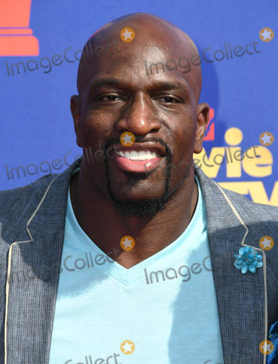 Titus ONeil Photo - 15 June 2019 - Santa Monica California - Titus ONeil 2019 MTV Movie and TV Awards held at Barker Hangar Photo Credit Birdie ThompsonAdMedia