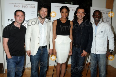 Alex Heffes Photo - 4 May 2011 - Beverly Hills California - Alex Heffes Sam Feuer Naomie Harris Justin Chadwick and Richard Harding The First Grader Los Angeles Screening held at the RealD Screening Room Photo Byron PurvisAdMedia