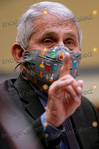 Anthony Fauci Photo - Dr Anthony Fauci Director of the National Institute of Allergy and Infectious Diseases at the National Institutes of Health testifies as the US House Select Subcommittee on the Coronavirus Crisis holds a hearing on the Capitol Hill in Washington on Thursday April 15 2021 Credit Amr Alfiky  Pool via CNPAdMedia