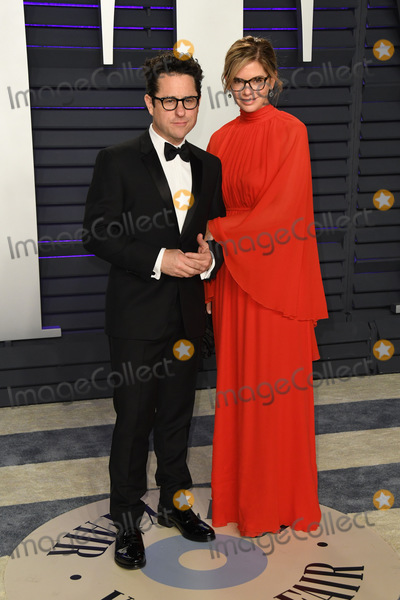 J J Abrams Photo - 24 February 2019 - Los Angeles California - Katie McGrath JJ Abrams 2019 Vanity Fair Oscar Party following the 91st Academy Awards held at the Wallis Annenberg Center for the Performing Arts Photo Credit Birdie ThompsonAdMedia