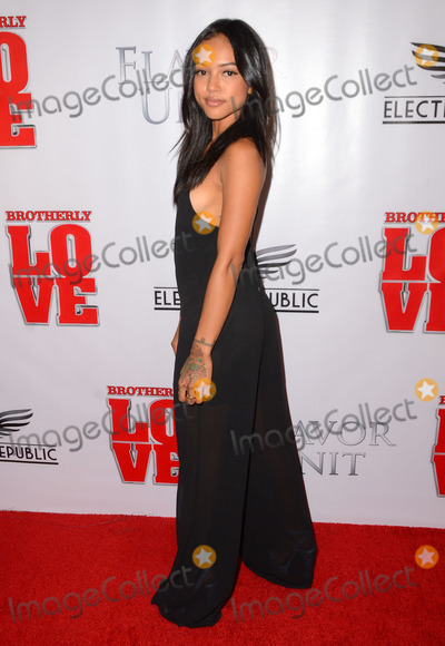Karrueche Tran Photo - 14 April 2015 - West Hollywood California - Karrueche Tran Arrivals for the Los Angeles premiere of Brotherly Love held at The Pacific Design Center Silver Screen Theater Photo Credit Birdie ThompsonAdMedia