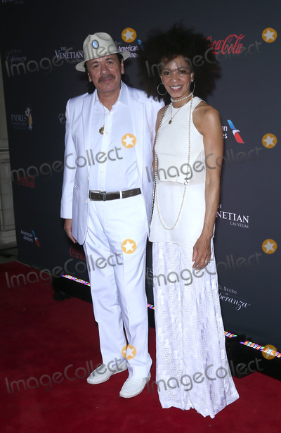Cindy Blackman Photo - 20 August 2016 - Las Vegas Nevada - Carlos Santana Cindy Blackman Eva Longoria hosts Padre Contra El Cancers 2016 El Sueno De Esperanza Celebration at The Venetian Photo Credit MJTAdMedia