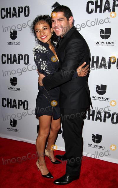 Tete Espinoza Photo - 19 April 2017 - Los Angeles California - Tete Espinoza and Marco De La O Univisions El Chapo Original Series Premiere Event held at The Landmark Theatre Photo Credit AdMedia