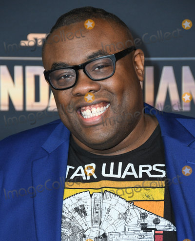 Andre Meadows Photo - 13 November 2019 - Hollywood California - Andre Meadows Disneys Mandalorian Los Angeles Premiere held at El Capitan Theatre Photo Credit Birdie ThompsonAdMedia
