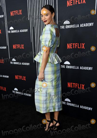 Ashley Madekwe Photo - 12 February 2019 - Hollywood California - Ashley Madekwe Netflixs The Umbrella Academy Los Angeles Premiere held at the Arclight Hollywood Photo Credit Birdie ThompsonAdMedia