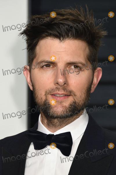Adam Scott Photo - 26 February 2017 - Beverly Hills California - Adam Scott 2017 Vanity Fair Oscar Party held at the Wallis Annenberg Center Photo Credit Byron PurvisAdMedia