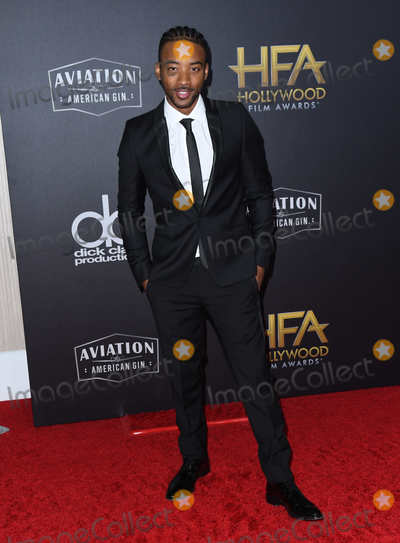 Algee Smith Photo - 04 November 2018 - Beverly Hills California - Algee Smith 22nd Annual Hollywood Film Awards held at Beverly Hilton Hotel Photo Credit Birdie ThompsonAdMedia