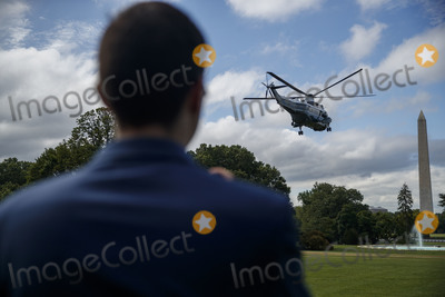 Donald Trump Photo - US President Donald J Trump aboard Marine One departs the South Lawn of the White House in Washington DC USA 10 July 2020 President Trump will receive a briefing and deliver remarks on SOUTHCOM Enhanced Counternarcotics Operations and he will participate in a roundtable on Supporting the People of VenezuelaCredit Shawn Thew  Pool via CNPAdMedia