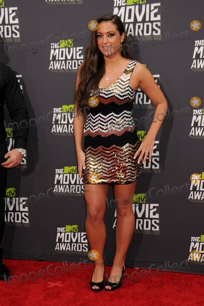 Sammi Giancola Photo - 14 April 2013 - Culver City California - Sammi Giancola 2013 MTV Movie Awards - Arrivals held at Sony Pictures Studios Photo Credit Byron PurvisAdMedia