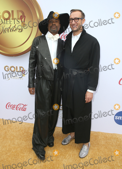 Adam Smith Photo - 05 January 2019 - West Hollywood California - Billy Porter and Adam Smith 6th Annual Gold Meets Golden Party Hosted by Nicole Kidman and Nadia Comaneci held at the House on Sunset Photo Credit Faye SadouAdMedia