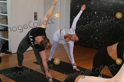 Adrienne Bailon Photo - 31 March 2017 - Beverly Hills California - Jasmine Sanders Adrienne Bailon Draya Michele and Friends at AloYoga Photo Credit AdMedia